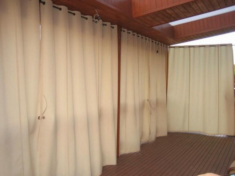 Брезентовые шторы