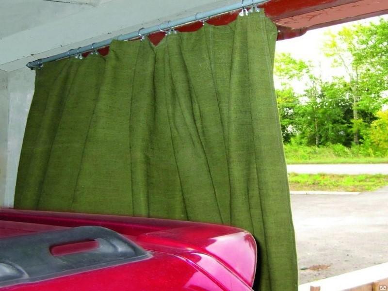 Брезентовые шторы для гаражей
