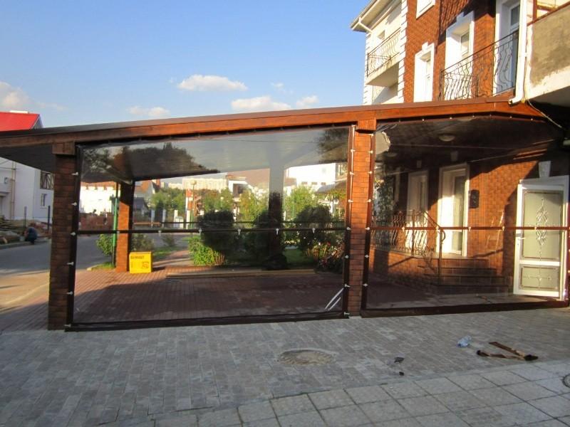 Уличные шторы ПВХ стандарт