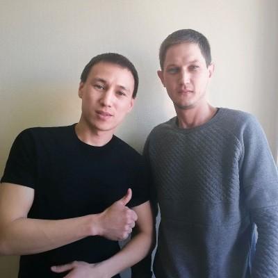 Александр Ким и Владимир Кусь