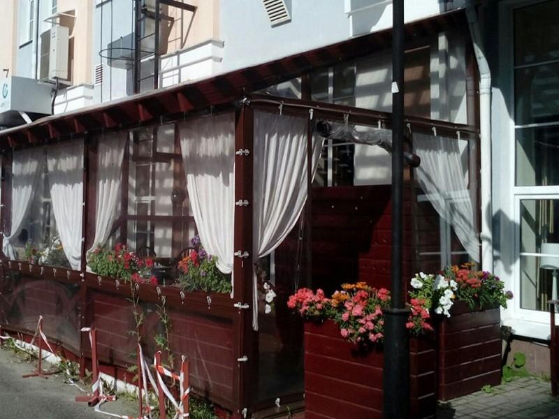 Мягкие окна для кафе и ресторанов эконом
