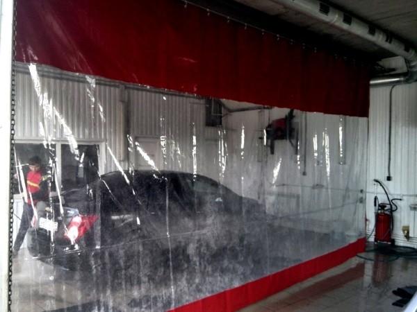 Мягкие окна для автомоек