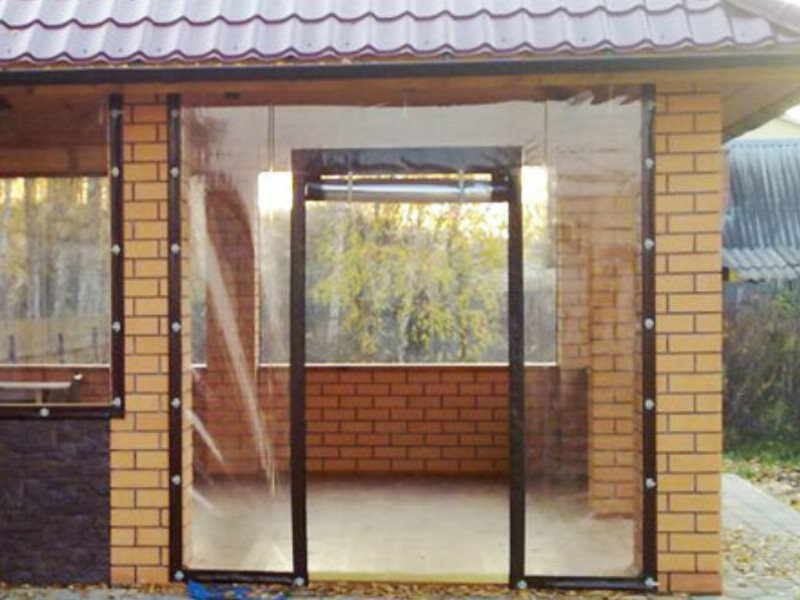 мягкие двери из пвх