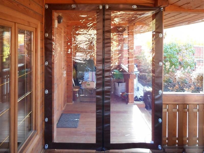 мягкие двери для крыльца