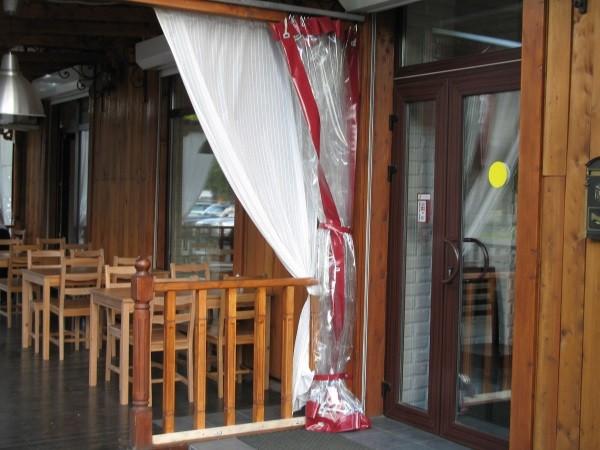 Мягкие окна для ресторанов