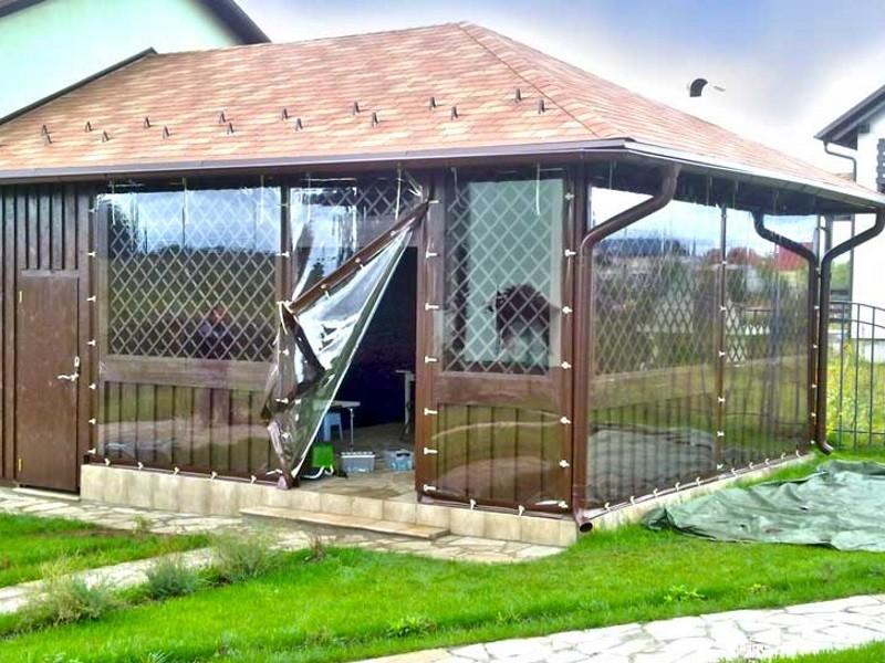 Мягкие окна для веранды дешево