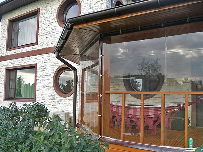 Мягкие окна с круглыми окнами