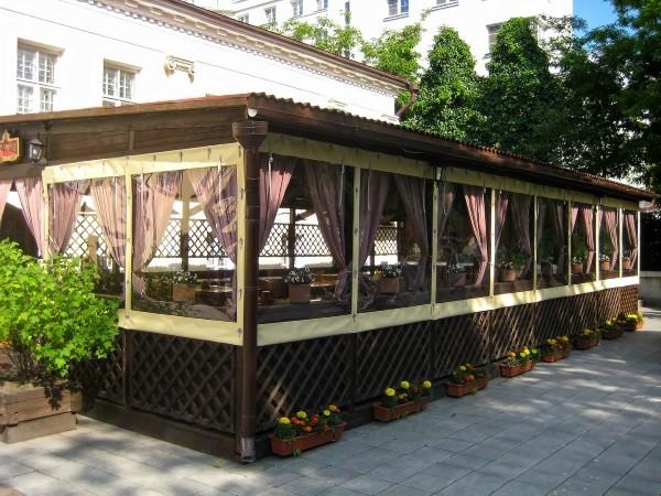 Мягкое окно для ресторана
