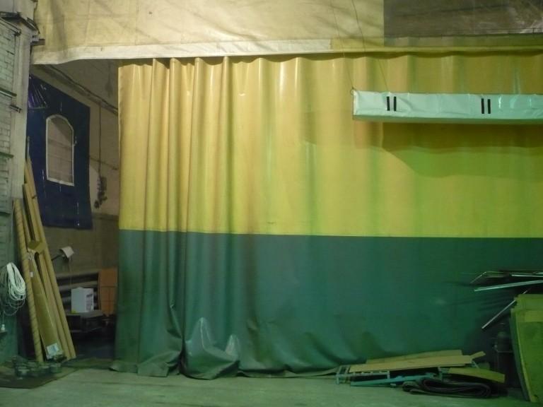 Промышленные шторы эконом