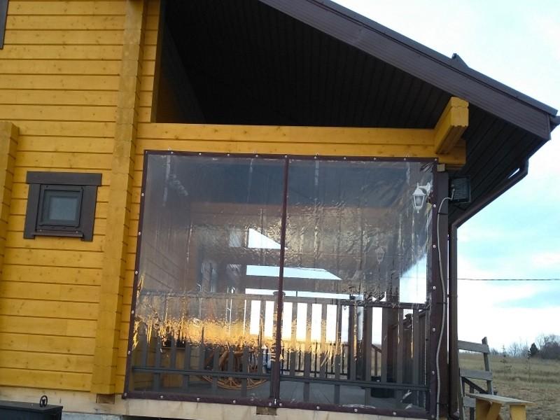 Мягкие окна для террасы