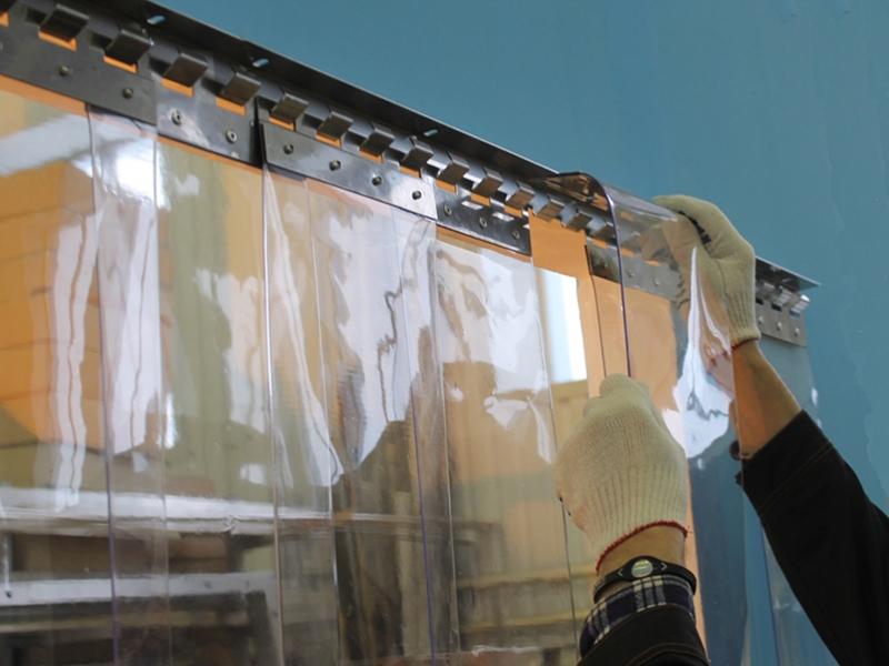 недорогие завесы из пвх лент