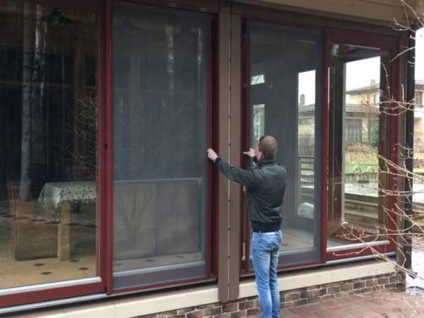 Мягкие окна с москитной сеткой Эконом