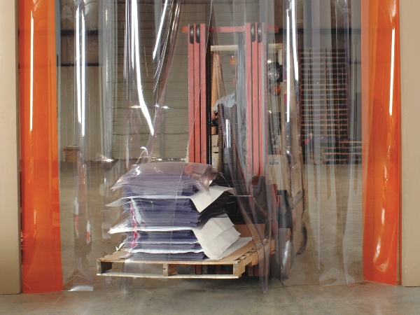 рифленые завесы ленточные для склада