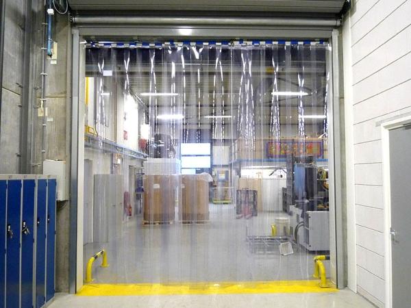 силиконовые гибкие завесы для складов