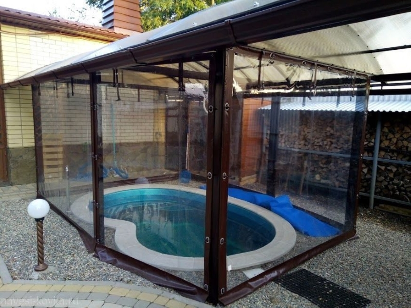 Мягкие окна для бассейна