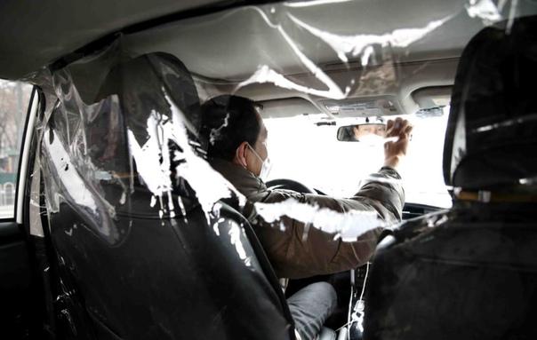 Экраны для такси