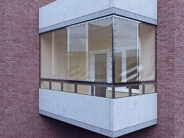 доступные мягкие окна для балкона хрущевки