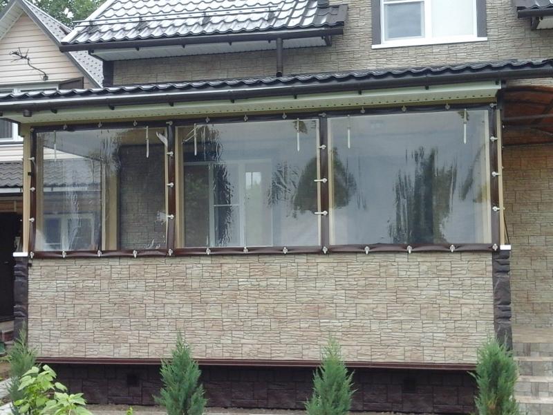 Мягкие окна для балкона по гост