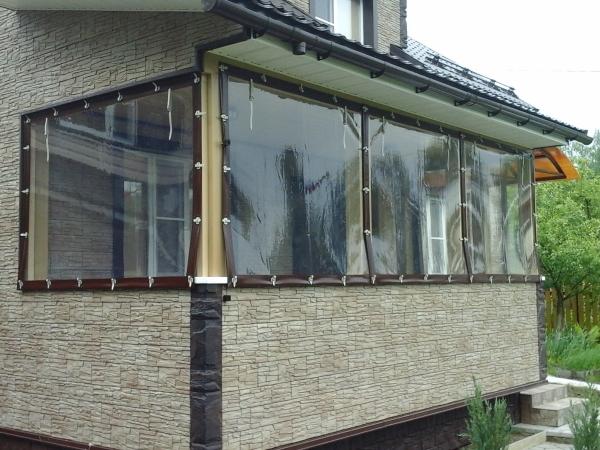 Мягкое окно на балкон