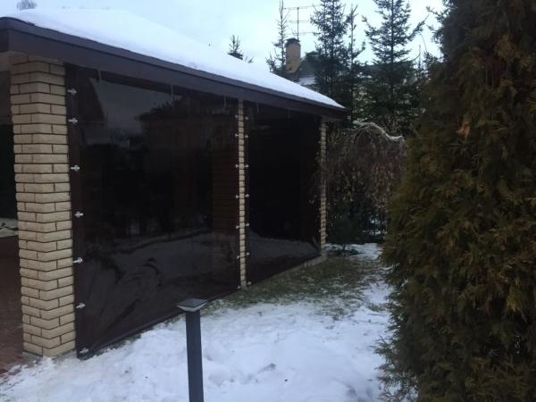 тонированное окно зимой держит тепло в помещении