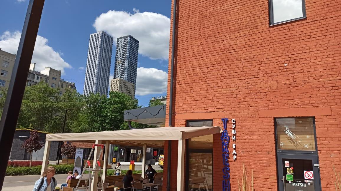 крыша для летнего кафе