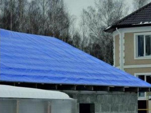 тент для крыши тарпаулин утепленный