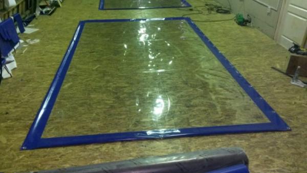 производство мягких окон готовые изделия