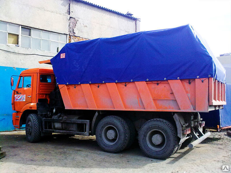 тент штора на кузов грузовика