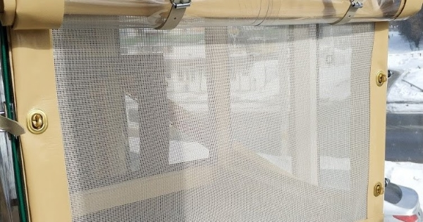 москитная сетка в окантовке пвх ткани