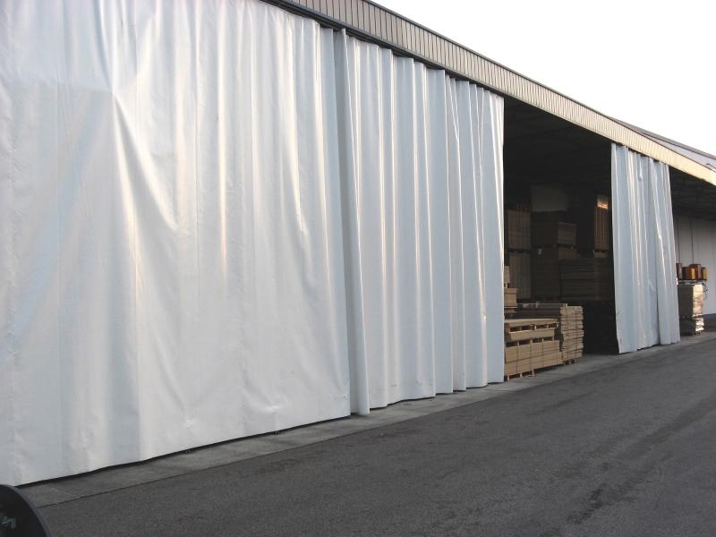 штора пвх для склада