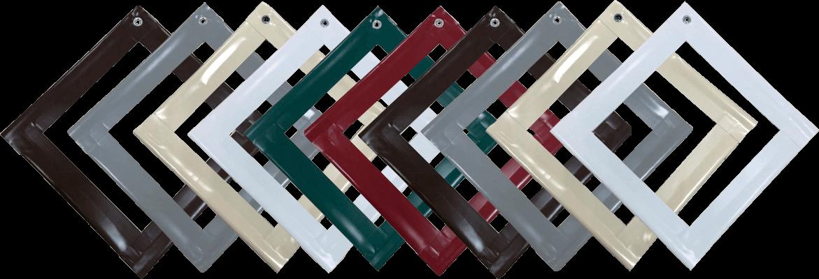 цветовые решения для мягких окон