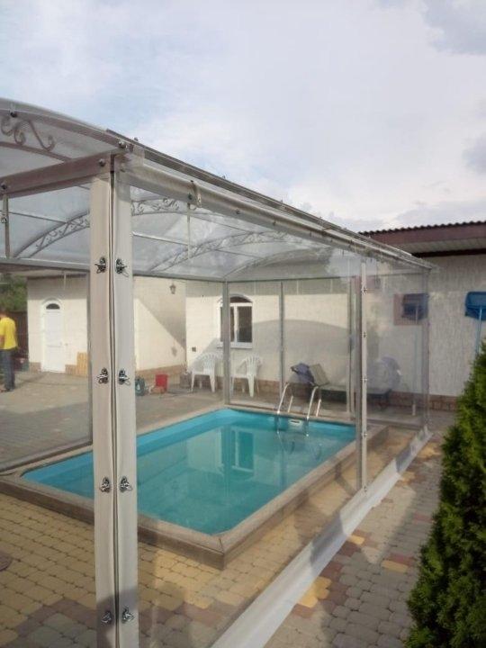 жидкие окна для басейна